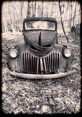 Photograph - The Old Chevy Truck #3 by Louise Kumpf