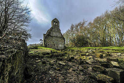 Photograph - The Old Church Of Ness by Terry Cosgrave