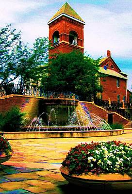 Art Print featuring the photograph The Old Church by P Dwain Morris