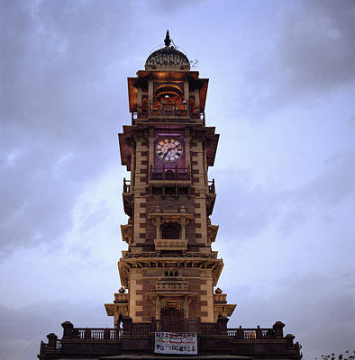 India Photograph - The Old Clock Tower by Shaun Higson
