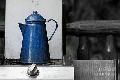 Photograph - The Old Coffee Pot by Leone Lund