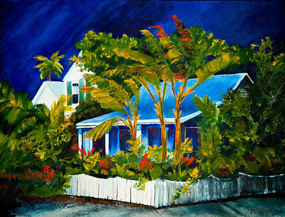 The Old Conch House Art Print