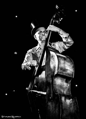 Photograph - The Old Contrabass Player by Stwayne Keubrick