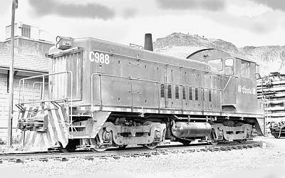 The Old Coors Switcher Art Print by J Griff Griffin