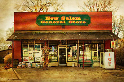 The Old Country Store Art Print by Randall Nyhof