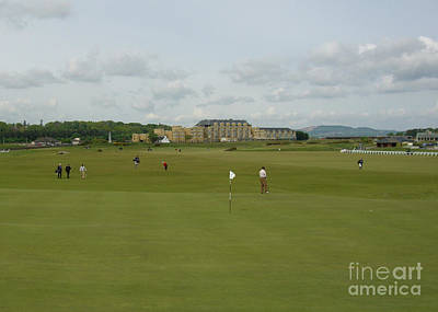 Photograph - The Old Course by Deborah Smolinske