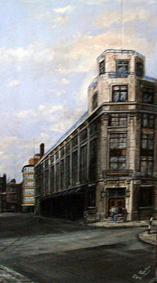 The Old Daily Mail Building London Art Print