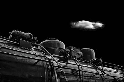 Locomotives Photograph - The Old Days by Stefan Eisele