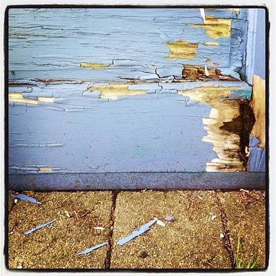 Abstract Photograph - The Old Door by Christy Beckwith