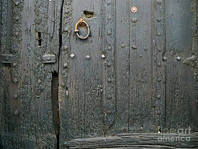 Cathar Country Photograph - The Old Door by France  Art