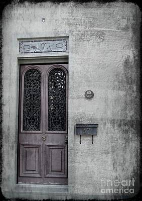 Photograph - The Old Door by Mary-Lee Sanders