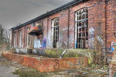 Photograph - The Old Engine Shed by David Birchall