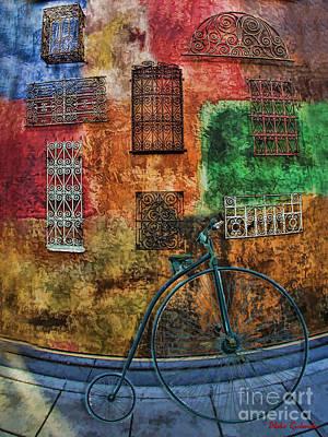 Photograph - The Old Fashion Bike by Blake Richards