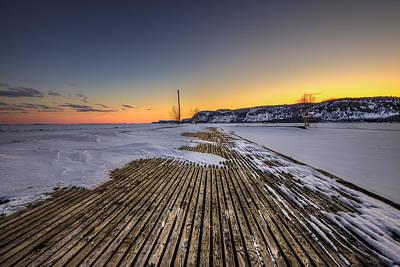 Movies Star Paintings - The old fishing dock by Jakub Sisak