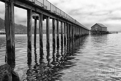 Photograph - The Old Fishing Pier by Sandra Bronstein