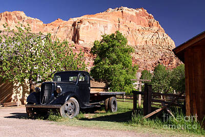 Photograph - The Old Ford by Butch Lombardi