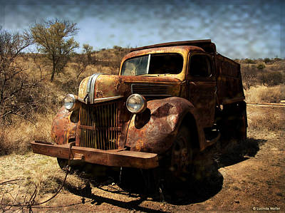 Photograph - The Old Ford by Lucinda Walter