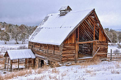 Photograph - The Old Fruitland Mesa Barn  by Eric Rundle