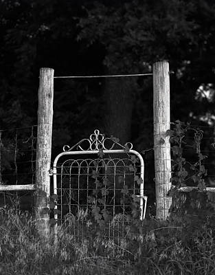 Photograph - The Old Gate by Richard Smith