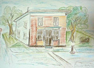 Painting - The Old General Store by Brenda Ruark