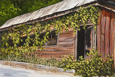 Painting - The Old General Store by Darice Machel McGuire