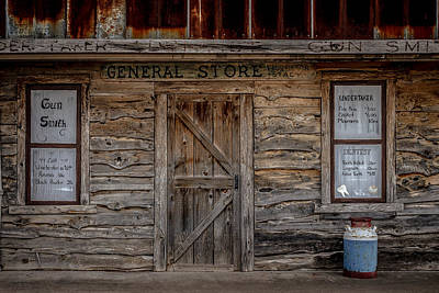 The Old General Store Art Print