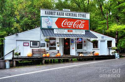Coca-cola Signs Photograph - The Old General Store by Mel Steinhauer