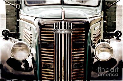 Gmc Photograph - The Old Gmc by Steven Digman