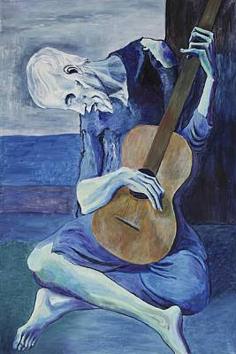 Image result for picasso blue