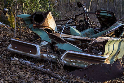 Photograph - The Old Heap by Andrew Pacheco