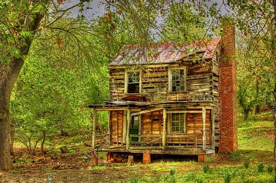 The Old Home Place Art Print by Dan Stone