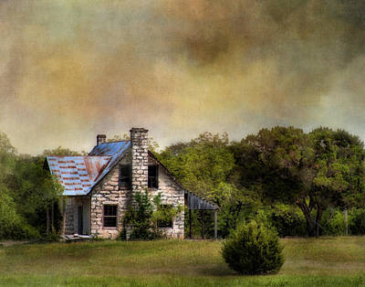 The Old Home Place Art Print by David and Carol Kelly