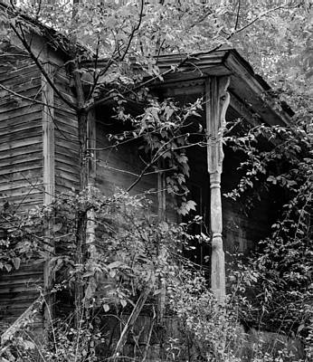 Photograph - The Old Homestead Front Poarch by Douglas Barnett