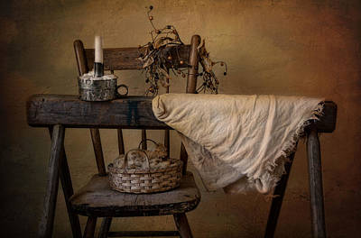 Photograph - The Old Horse by Robin-Lee Vieira