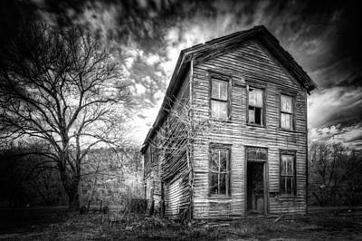 Old House Photograph - The Old House 1 by Emmanuel Panagiotakis