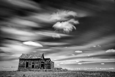 The Old House On The Hill Original by Yves Gagnon