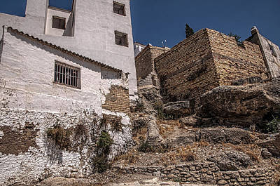 Beauty Photograph - The Old Houses Of Ronda. Andalusia. Spain by Jenny Rainbow