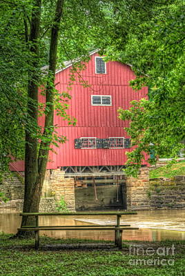 Old Mills Photograph - The Old Indian Mill by Pamela Baker