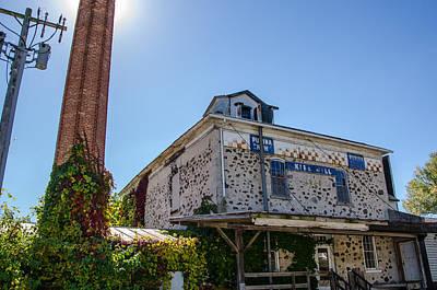 Feed Mill Photograph - The Old Kiel Mill  by Susan  McMenamin