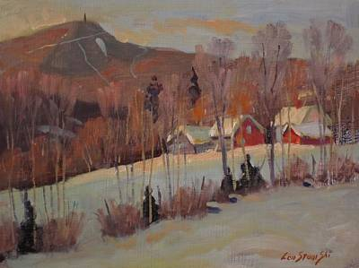 Painting - The Old Kordana Farm by Len Stomski