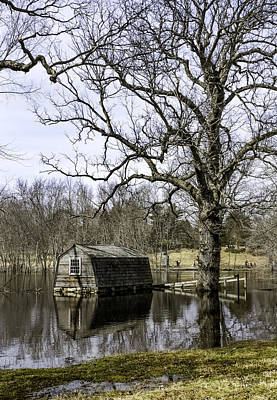 Concord Massachusetts Photograph - The Old Manse Boathouse by Betty Denise