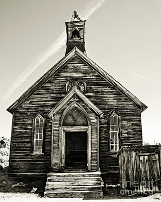 Photograph - The Old Methodist Church by Lana Trussell