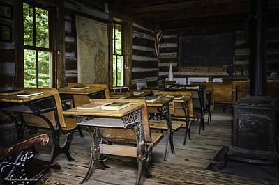 Photograph - The Old Mikado Bailey School House by LeeAnn McLaneGoetz McLaneGoetzStudioLLCcom