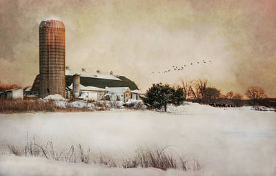 Photograph - The Old Milk Barn by Robin-Lee Vieira