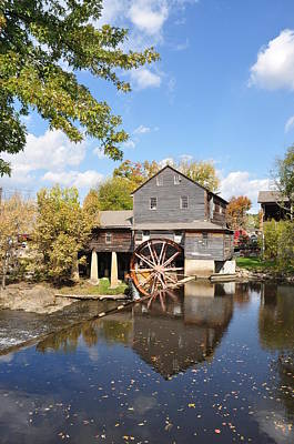 The Old Mill - Lazy Summer Day Art Print by John Saunders