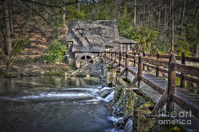 Photograph - The Old Mill #1 by Ken Johnson
