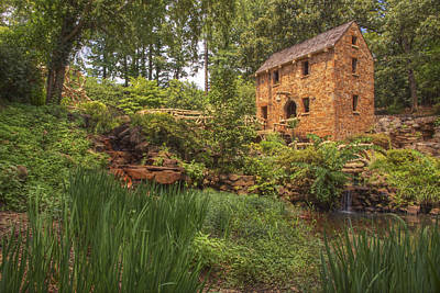 Photograph - The Old Mill And Pond by Jason Politte