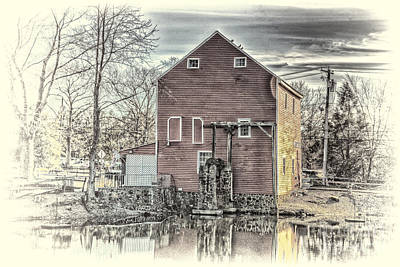 The Old Mill Original by Arnie Goldstein