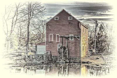 Arnie Goldstein Photograph - The Old Mill by Arnie Goldstein