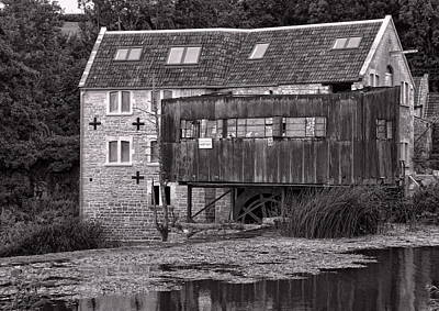 The Old Mill Avoncliff Art Print